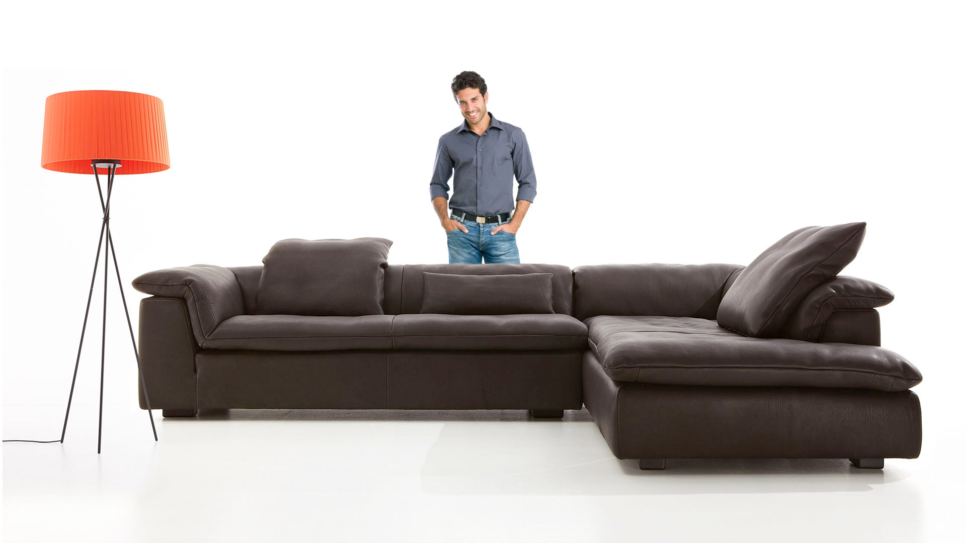Leather sofa History