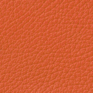 Leather double thickness colour Orange